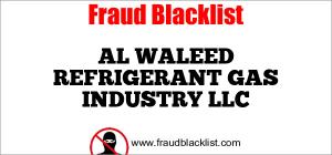 AL WALEED REFRIGERANT GAS INDUSTRY LLC