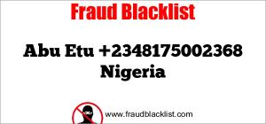 Abu Etu +2348175002368 Nigeria