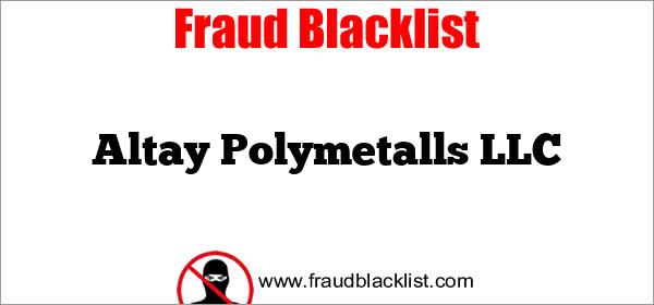 Altay Polymetalls LLC