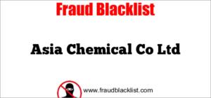 Asia Chemical Co Ltd