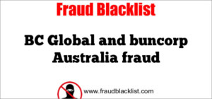 BC Global and buncorp Australia fraud