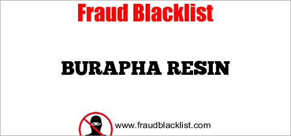 BURAPHA RESIN