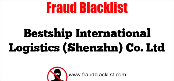 Bestship International Logistics (Shenzhn) Co. Ltd