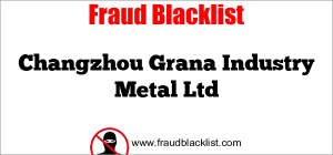 Changzhou Grana Industry Metal Ltd
