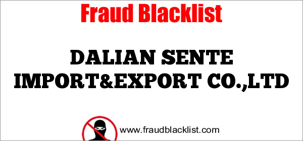 DALIAN SENTE IMPORT&EXPORT CO.,LTD