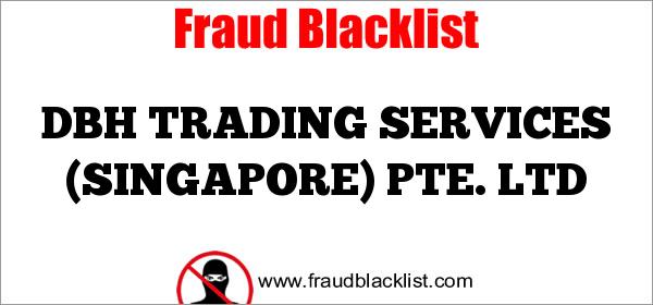 DBH TRADING SERVICES (SINGAPORE) PTE. LTD