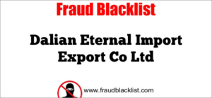 Dalian Eternal Import Export Co Ltd