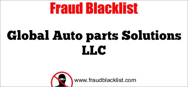 Global Auto parts Solutions LLC