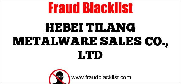 HEBEI TILANG METALWARE SALES CO., LTD