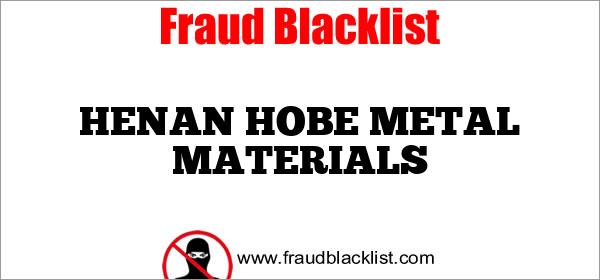 HENAN HOBE METAL MATERIALS