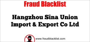 Hangzhou Sina Union Import & Export Co Ltd
