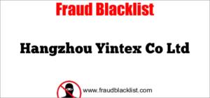 Hangzhou Yintex Co Ltd