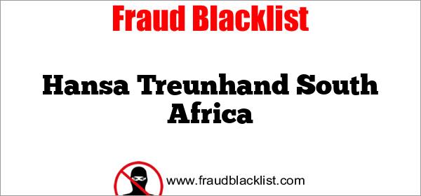 Hansa Treunhand  South Africa