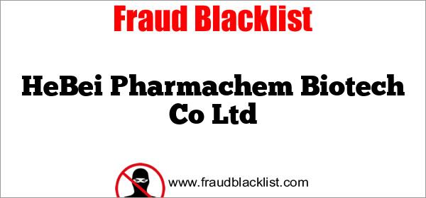 HeBei Pharmachem Biotech Co Ltd