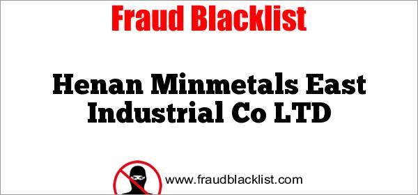 Henan Minmetals East Industrial Co LTD
