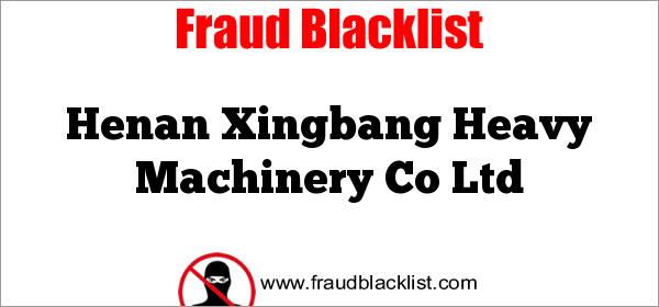 Henan Xingbang Heavy Machinery Co Ltd