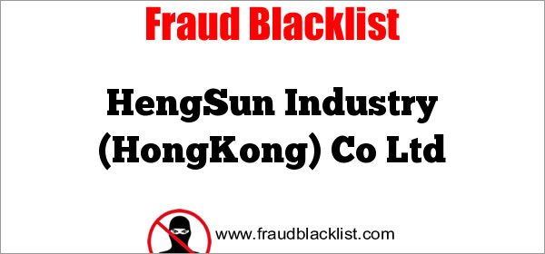 HengSun Industry (HongKong) Co Ltd