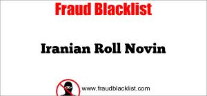 Iranian Roll Novin