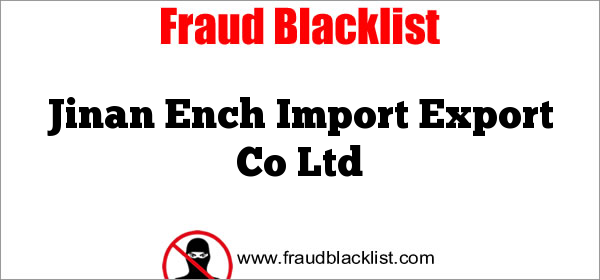 Jinan Ench Import Export Co Ltd