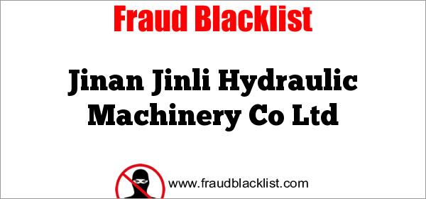 Jinan Jinli Hydraulic Machinery Co Ltd
