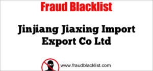 Jinjiang Jiaxing Import Export Co Ltd