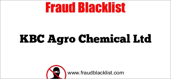 KBC Agro Chemical Ltd