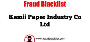Kemii Paper Industry Co Ltd