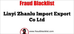 Linyi Zhanlu Import Export Co Ltd