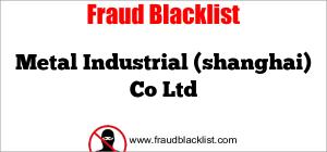 Metal Industrial (shanghai) Co Ltd