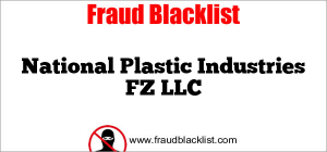 National Plastic Industries FZ LLC