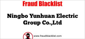 Ningbo Yunhuan Electric Group Co.,Ltd