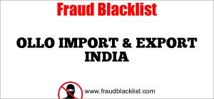 OLLO IMPORT & EXPORT INDIA