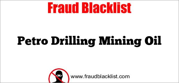 Petro Drilling Mining Oil