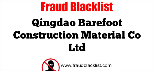 Qingdao Barefoot Construction Material Co Ltd