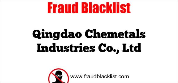 Qingdao Chemetals Industries Co., Ltd