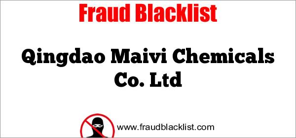 Qingdao Maivi Chemicals Co. Ltd