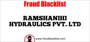 RAMSHANIHI HYDRAULICS PVT. LTD