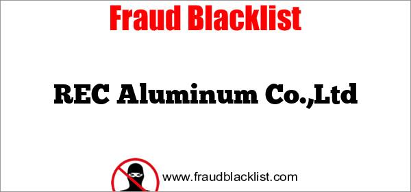 REC Aluminum Co.,Ltd