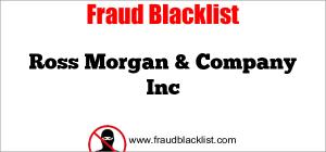 Ross Morgan & Company Inc