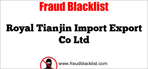 Royal Tianjin Import Export Co Ltd