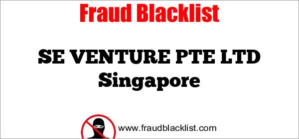 SE VENTURE PTE LTD Singapore