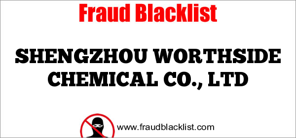 SHENGZHOU WORTHSIDE CHEMICAL CO., LTD