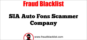 SIA Auto Fons Scammer Company