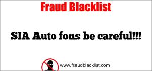 SIA Auto fons be careful!!!