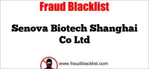 Senova Biotech Shanghai Co Ltd