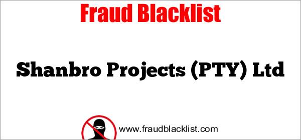 Shanbro Projects (PTY) Ltd