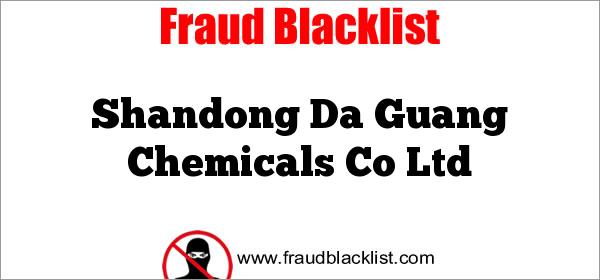 Shandong Da Guang Chemicals Co Ltd