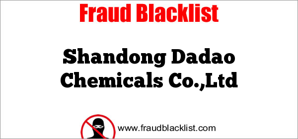 Shandong Dadao Chemicals Co.,Ltd