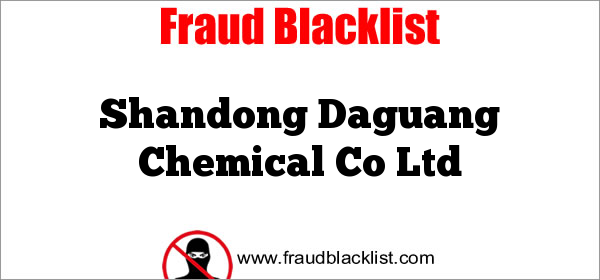 Shandong Daguang Chemical Co Ltd
