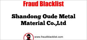 Shandong Oude Metal Material Co.,Ltd